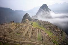 Lost city of the Incas (LucaPicciau) Tags: city peru southamerica fog inca cuzco america lost ruins stones cusco foggy per inka lp andes macchupicchu incas ande inkan