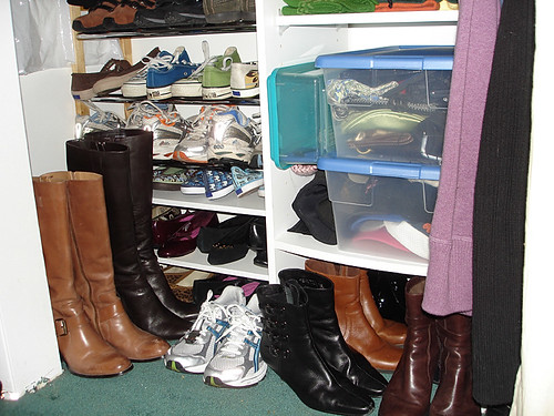 shoe rack expansion