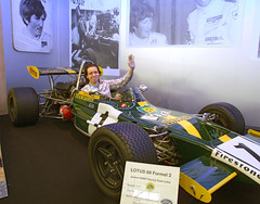Me in a 1970 Lotus 69 Formula 2 (Mario's Planet) Tags: red 2 green classic ford me car yellow museum fire 1 team lotus stripe engine tire racing tires formula 1970 69 extinguisher jochen tyres tyre ennstalclassic rindt