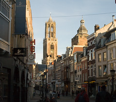 Tower of Utrecht Cathedral, The Netherlands (robelsas) Tags: holland tower church netherlands utrecht domtoren toren dom nederland kerk blueribbonwinner chathedral aplusphoto flickrestrellas hccity