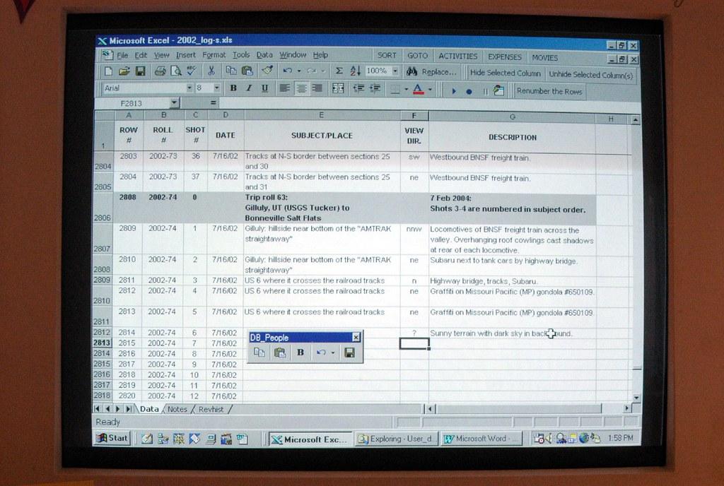 20040207 003...Spreadsheet log