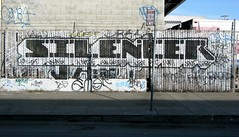 SILENCER (Condition NYC) Tags: graffiti silencer jaut michellenicoleronchetti conditionsanfrancisco