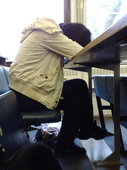 Asleep in lectures