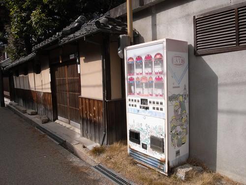 今井町の古い自販機