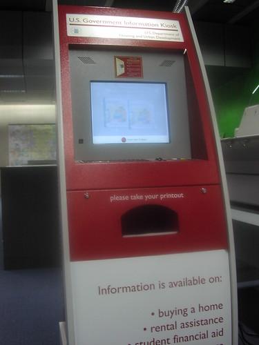 gov doc kiosk