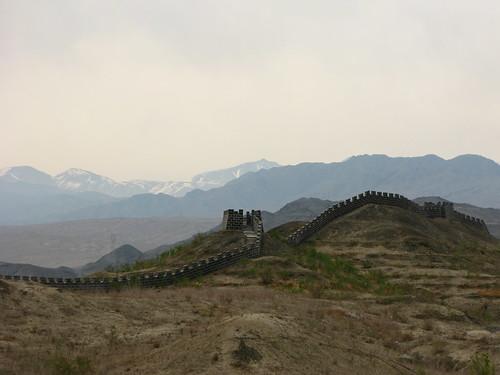 The great wall already? (near Jinghe, Xinjiang, China)