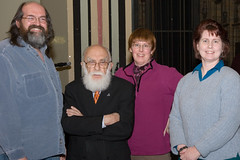 Randi with Springfield Skeptics and Freethinkers