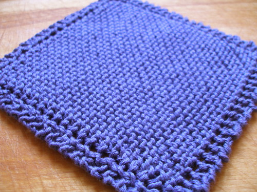 someone has to stay home and knit the dishcloths