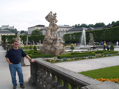 Po in the Mirabell Gardens