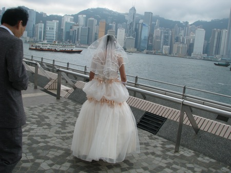 Bride and Groom in Kowloon