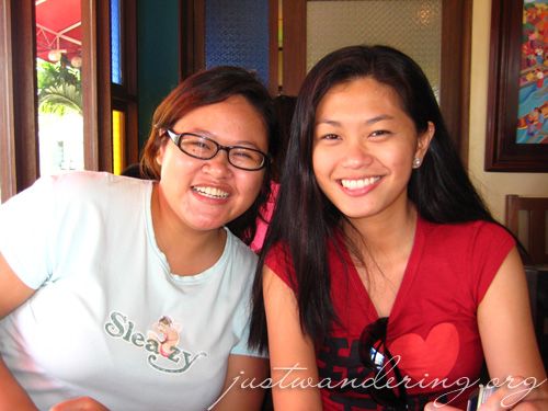 Nina and Anna D at the Kanin Club