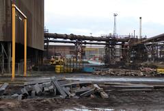 IMG_0762    British Steel, Scunthorpe (SomeBlokeTakingPhotos) Tags: britishsteel steel steelworks steelmill steelindustry stahlwerk stahl heavyindustry manufacturing industrialrailway torpedocar