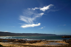 2015-02-17: Cloud Over the Bay (Ggreybeard) Tags: cloud harbour bay coast seaside nsw bellambi illawarra wollongong