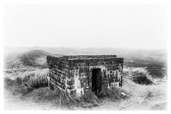 bunker in the dunes (Der Zeit die Augenblicke stehlen) Tags: 2weltkrieg bw dänemark dünen eos700d hth56 landscape landschaft nordsee sand thomashesse westwall monochrom sw