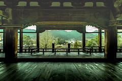 千畳閣から見る厳島神社 - 1 (Yuichi Yoshimoto) Tags: nikon d750 sigma sigma15mmf28exdgdiagonalfisheye cooljapan structure nature shrine temple miyajima hiroshima japan