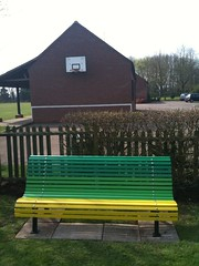 play area bench