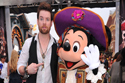 David Cook and Mickey Mouse