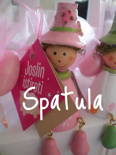 joslin bonboniyer by Demetin spatulasi