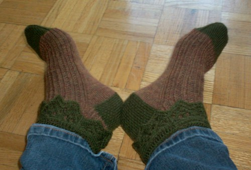 Garden Stroll Socks - Complete