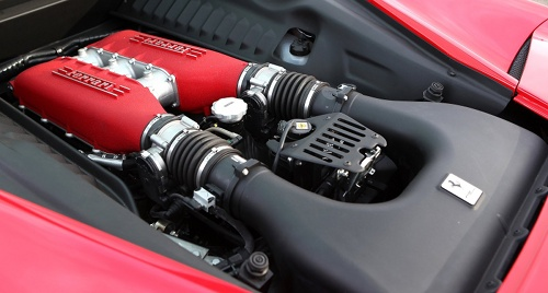 Ferrari 4,5l V8 Engine