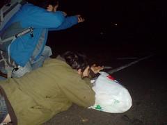 Moving into position (thegingerbloke) Tags: drunk matt richie jed seb paintball tonic