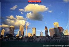 The Skyline of Kuala Lumpur, Malaysia