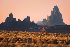 Navajo Nation Monoliths (Laura Travels) Tags: arizona mountains southwest desert monumentvalley monoliths navajonation