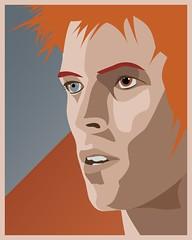 Ziggy (sp_clarke) Tags: artwork illustrator vector ziggy stardust davidbowie ziggystardust