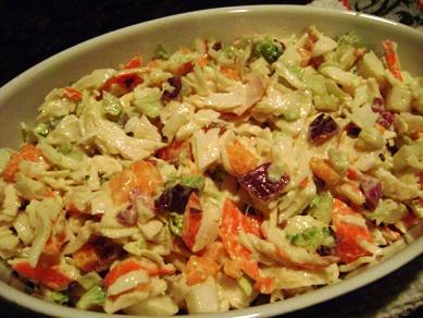 crab salad, SAS November