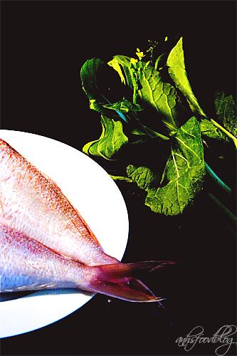 Fish and Choy Sum