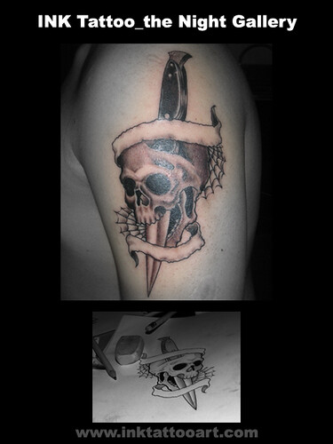 cool skulls tattoos