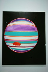 Multicolor Planet (THEfunkyman) Tags: paris museum painting peinture mind planet third palais dawson ugo verne rondinone palaistokyo thirdmind