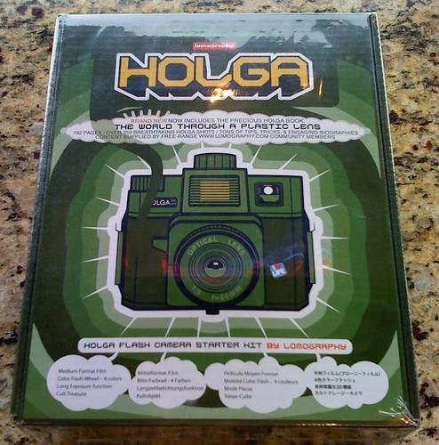 My new Green Holga!