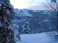 View from Stein Eriksen Lodge
