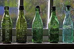 five green bottles... (Leo Reynolds) Tags: canon eos iso100 bottle f56 115mm 0006sec 40d 1ev hpexif leol30random canon40d grouputata grouptwtme xintx gressenhallfarmworkhouse xratio32x xxblurbbookxx xxblurbbookcoffeetablexx groupnorfolk xleol30x