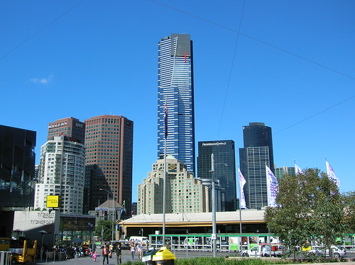 Sky line Melbourne