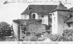 Chapelle du couvent des Bernardines à Orgelet (Jura)