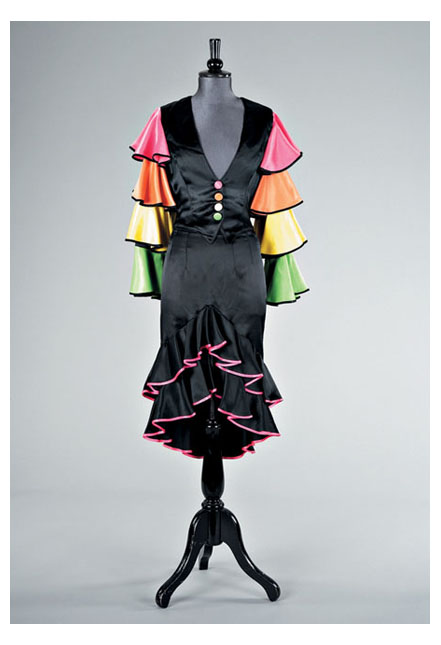 Flamenco outfit worn by Dinal Adams