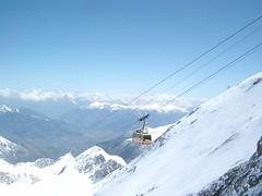 Gondola to the Summit (jeffr_travel) Tags: alps skiing gondola tyrol kitzsteinhorn
