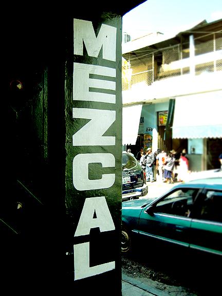 Mezcal Shop in Oaxaca
