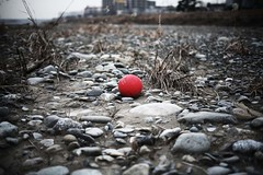 Bottom of  river # ball (alleys) Tags: zeiss 35mm canon river 5d 3514 distagon