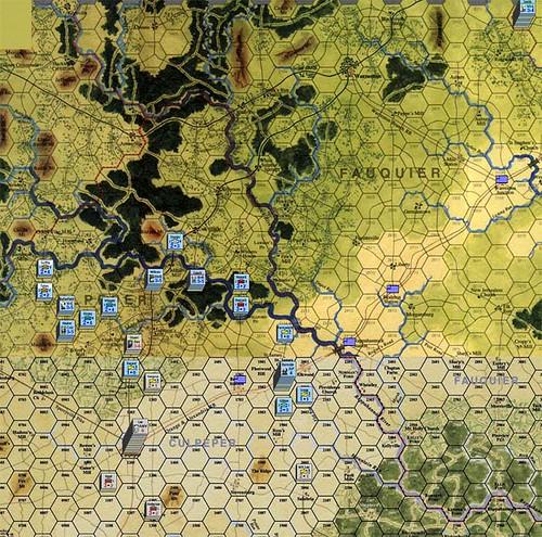 Burnside Takes Command - Stuart vs Bayard