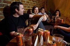 accidental awesome (mizmareck) Tags: beer marty alia davidwalker porkslap notrocket stephgoralnick andyclymer starvingfartist