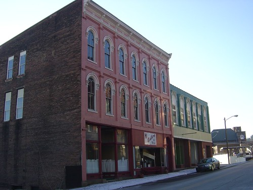 Downtown Grafton - Colorful Buildings
