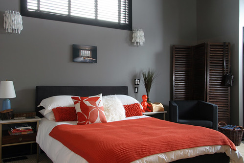 A Chelsea Gray Bedroom Kelly Bernier Designs