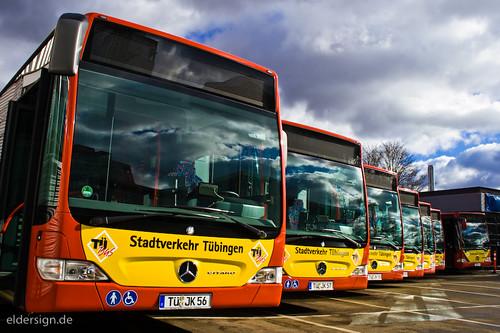 Neue Busse für Tübingen