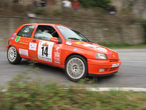 Rota Bianco al Rally di Andora 2008