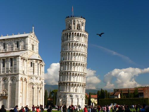 Torre con paloma