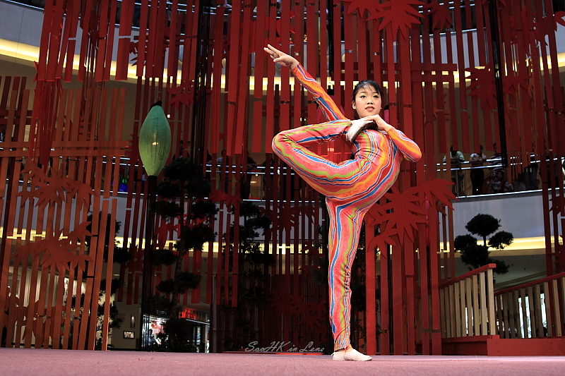 Flexibility, ChangZhou Acrobatic Spectacular @ MidValley