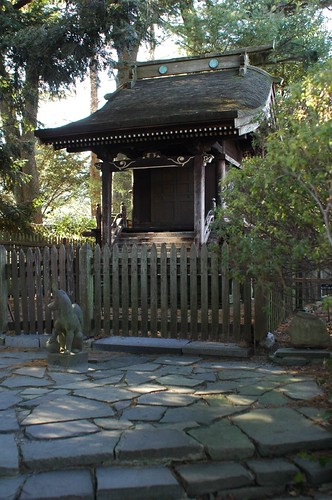 Shrine, Japanese Garden, BBG